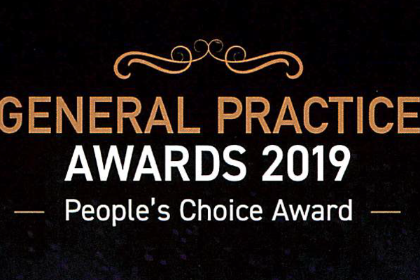 Vote for us ! General Practice Awards 2019